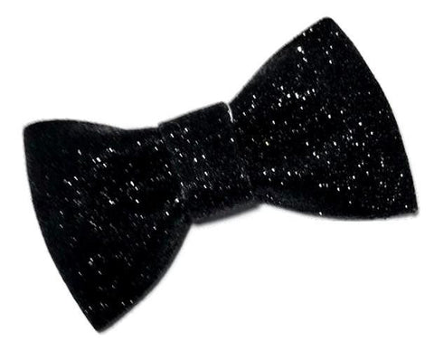 "Black 3"" glitter bow / 1-3 pieces - MAE Inspirations"