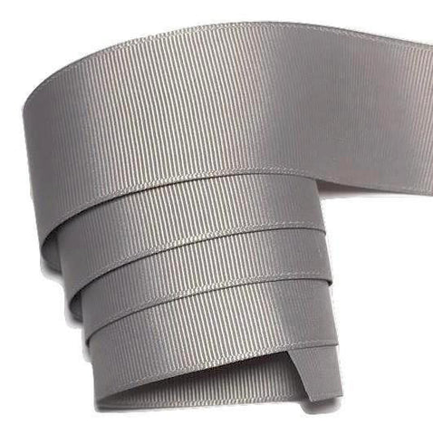"Gray 1.5"" grosgrain ribbon - MAE Inspirations"