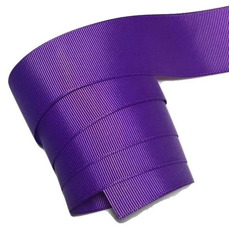 "Purple 1.5"" grosgrain ribbon - MAE Inspirations"