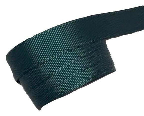 "Hunter green 5/8"" grosgrain ribbon - MAE Inspirations"