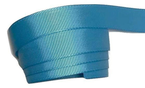 "Turquoise blue 5/8"" grosgrain ribbon - MAE Inspirations"
