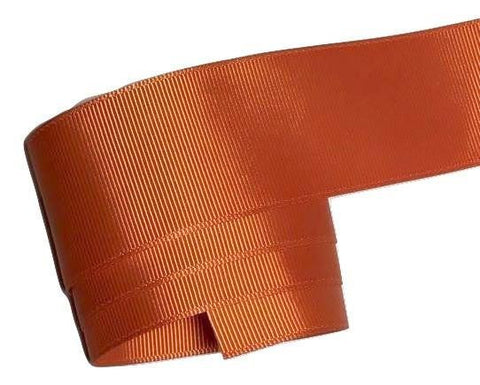 "Orange 1.5"" grosgrain ribbon - MAE Inspirations"