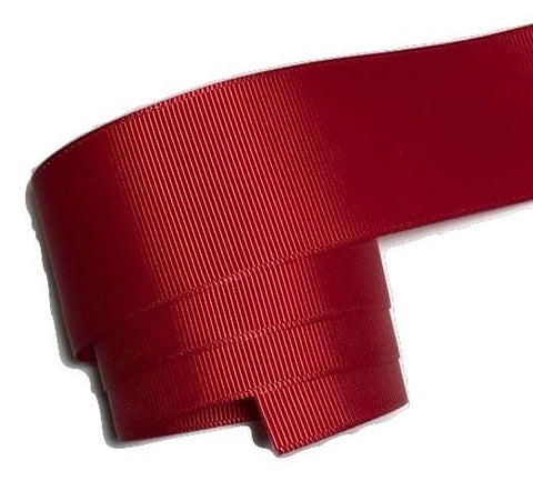 "Red 1.5"" grosgrain ribbon - MAE Inspirations"