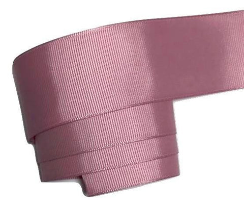 "Mauve 1.5"" grosgrain ribbon - MAE Inspirations"
