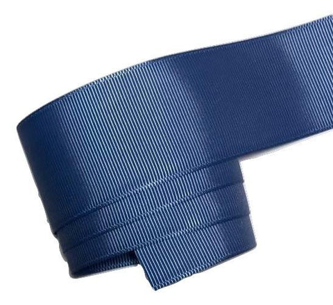 "Light navy blue 1.5"" grosgrain ribbon - MAE Inspirations"