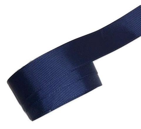 "Navy blue 7/8"" grosgrain ribbon - MAE Inspirations"