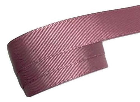"Mauve 7/8"" grosgrain ribbon - MAE Inspirations"