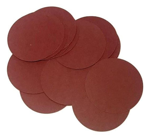 "Burgundy 2"" circle card stock paper confetti - MAE Inspirations"
