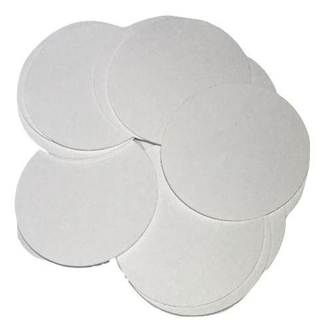 "White 2"" circle card stock paper confetti - MAE Inspirations"