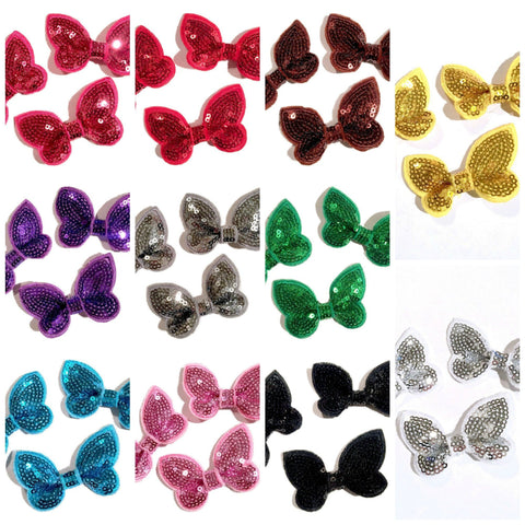 "GRAB BAG 2"" butterfly sequin bow / 3-20 pieces - MAE Inspirations"