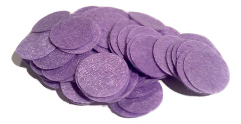 "1"" lavender felt circles / 25-50 pieces - MAE Inspirations"