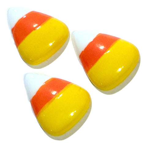 Candy corn resin cabochon 26x21mm / 1-5 pieces - MAE Inspirations