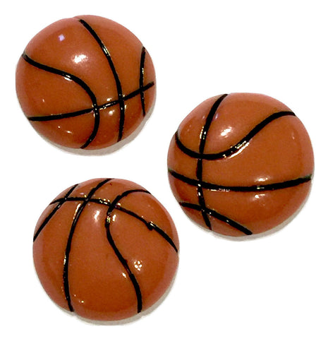 Basketball resin cabochon 15mm / 1-5 pieces - MAE Inspirations