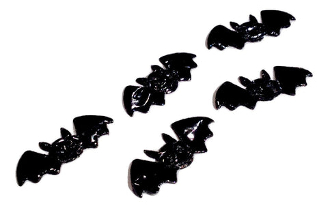 Black mini bat Halloween appliqués - MAE Inspirations
