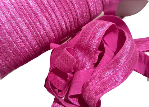 "Garden rose 5/8"" fold over elastic FOE"