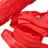 "Neon orange 5/8"" fold over elastic FOE - MAE Inspirations"