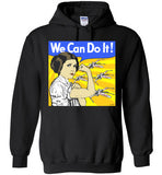 Carrie Fisher Tribute Leia We Can Do It! Tee