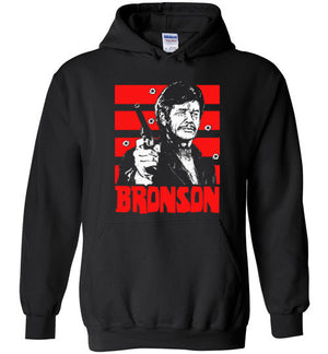 "Death Wish T-shirt ""Bronson"" artwork by Jared Swart inspired by the 1974 film."