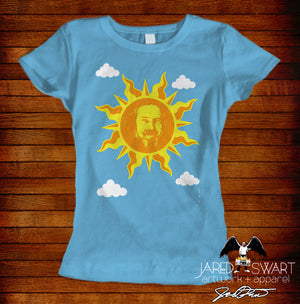 Alan Watts T-shirt sunshine design by Jared swart