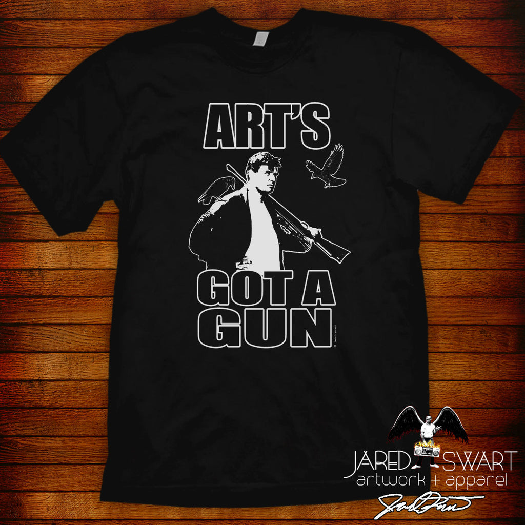 "The Burbs ""Art's got a gun"" tee"