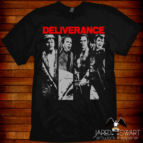 Deliverance t-shirt by Jared Swart based on the 1972 film classic
