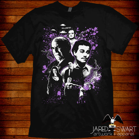 Ed Wood T-Shirt artwork by Jared Swart inspired by the 1994 Tim Burton movie