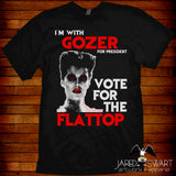 Ghostbusters Parody T-shirt Gozer for President