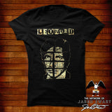 Leonard Cohen Designer Tee original artwork by Jared swart