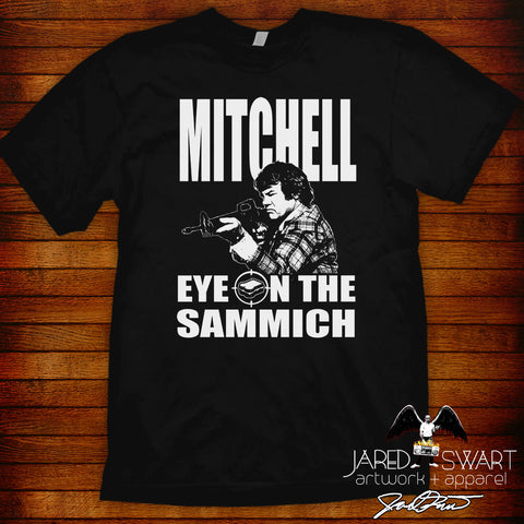 "Mitchell ""Eye On The Sammich"" Tee"