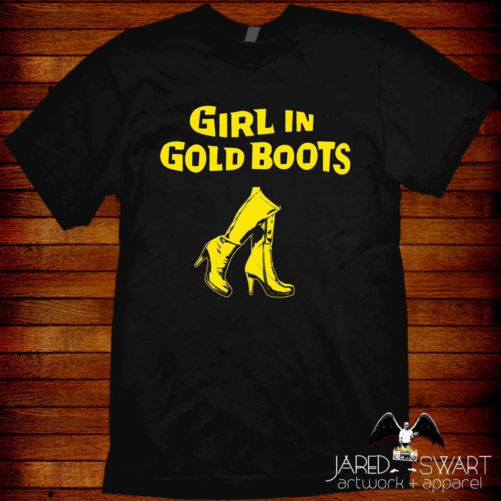 MST3K T-shirt Girl in Gold Boots