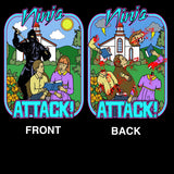 Ninja Attack! Double sided front & back print T-shirt