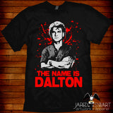 Road House T-shirt Dalton based on the 1989 movie starring Patrick Swayze