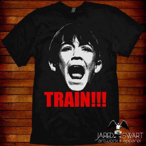 Stand By Me T-shirt Gordie Lachance Train!!!