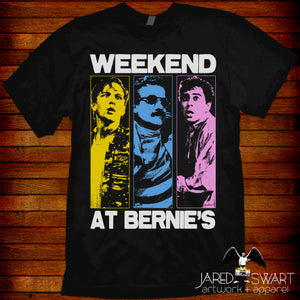 Weekend At Bernie's T-shirt Pop-Art style