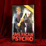 American Psycho custom artwork VHS Horror Big Box Clamshell