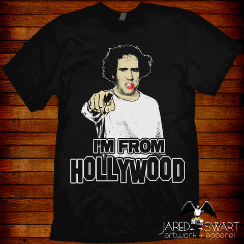 Andy Kaufman Hollywood t-shirt wrestling