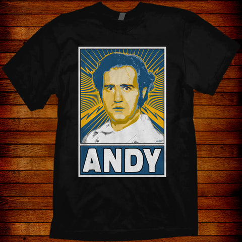 "Andy Kaufman ""ANDY"" tee"