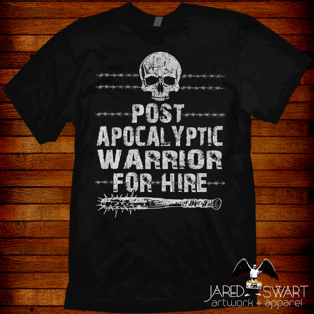 Post Apocalyptic Warrior T-shirt
