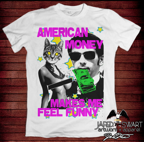 American Money: Art Show T-shirt (2017 collection)