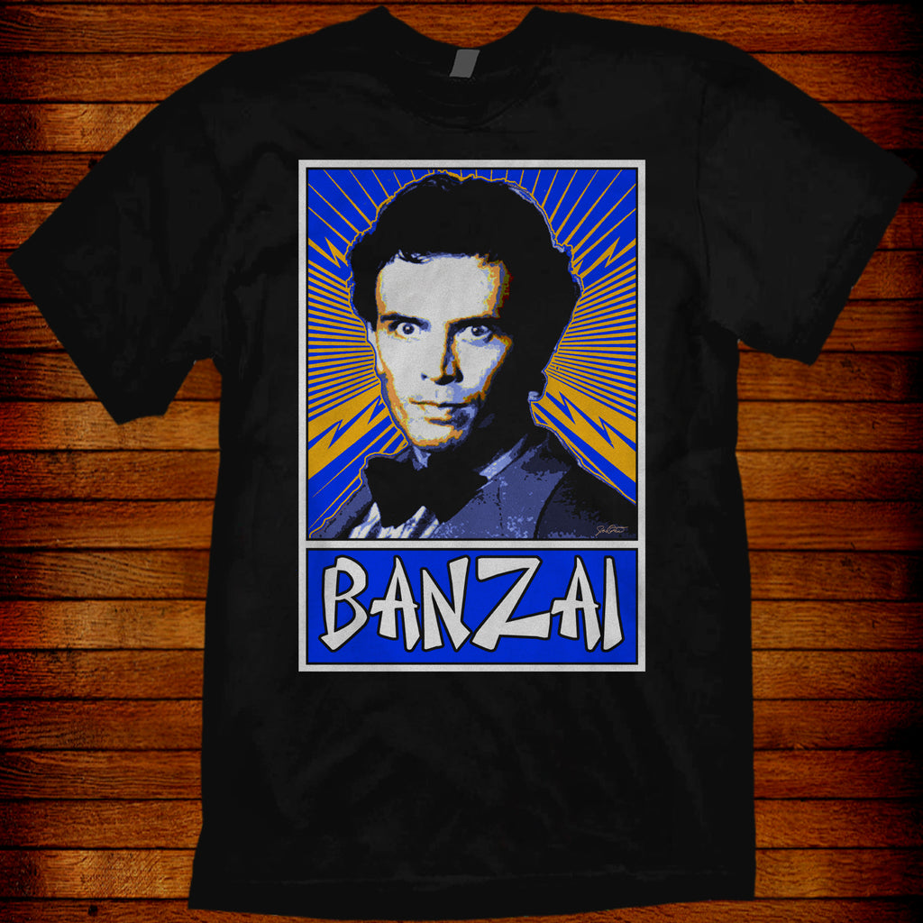 Buckaroo Banzai (pop art styled design)