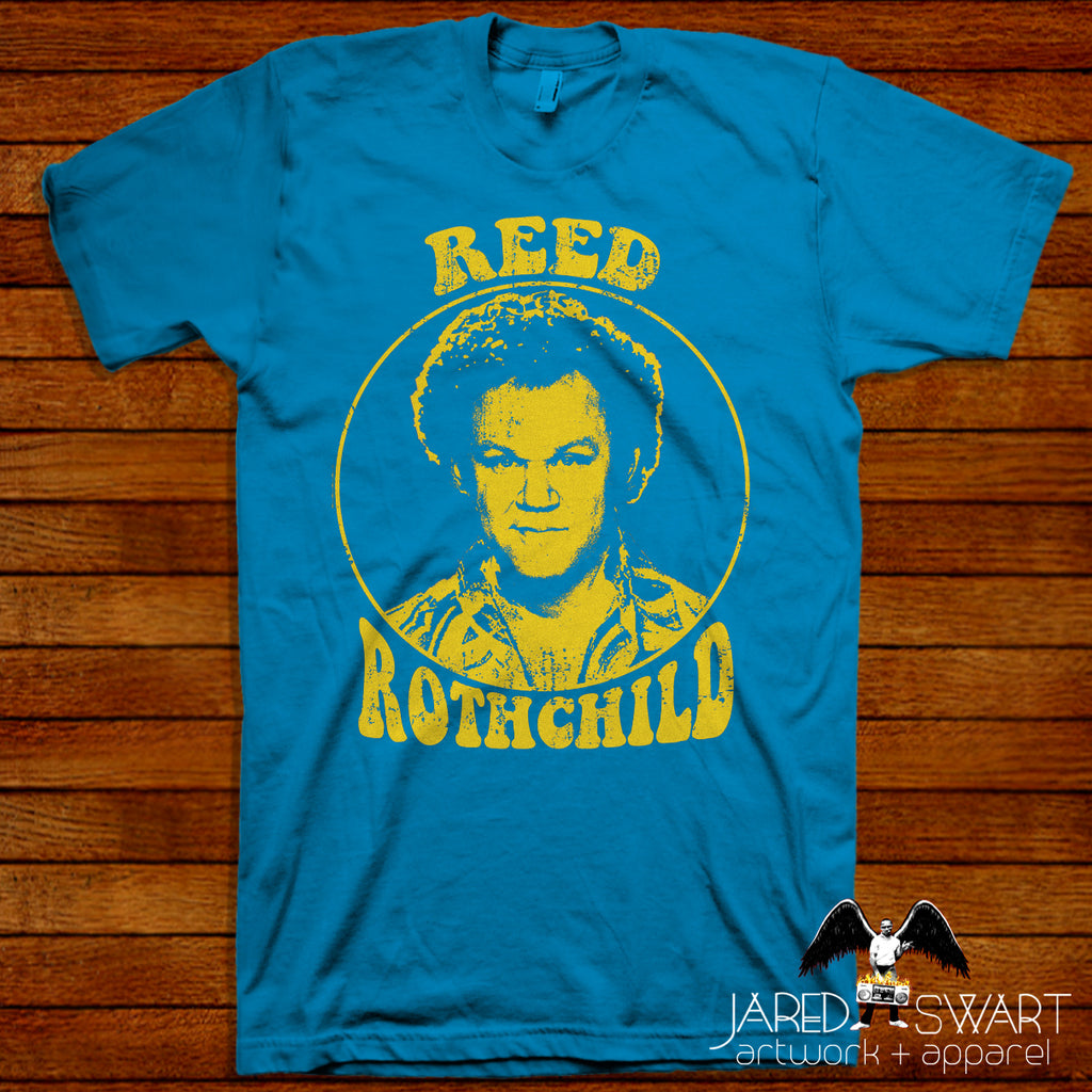 "Boogie Nights 1997 T-shirt Reed Rothchild Chest Rockwell ""John C. Reilly"""