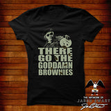 "The Burbs T-shirt ""Rumsfield's brownies"""