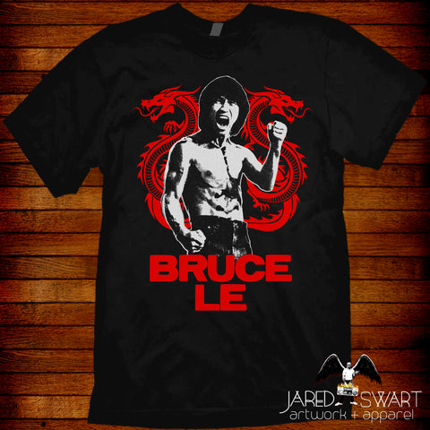 Bruce Le VHS Ninja Dragon Bruce Lee