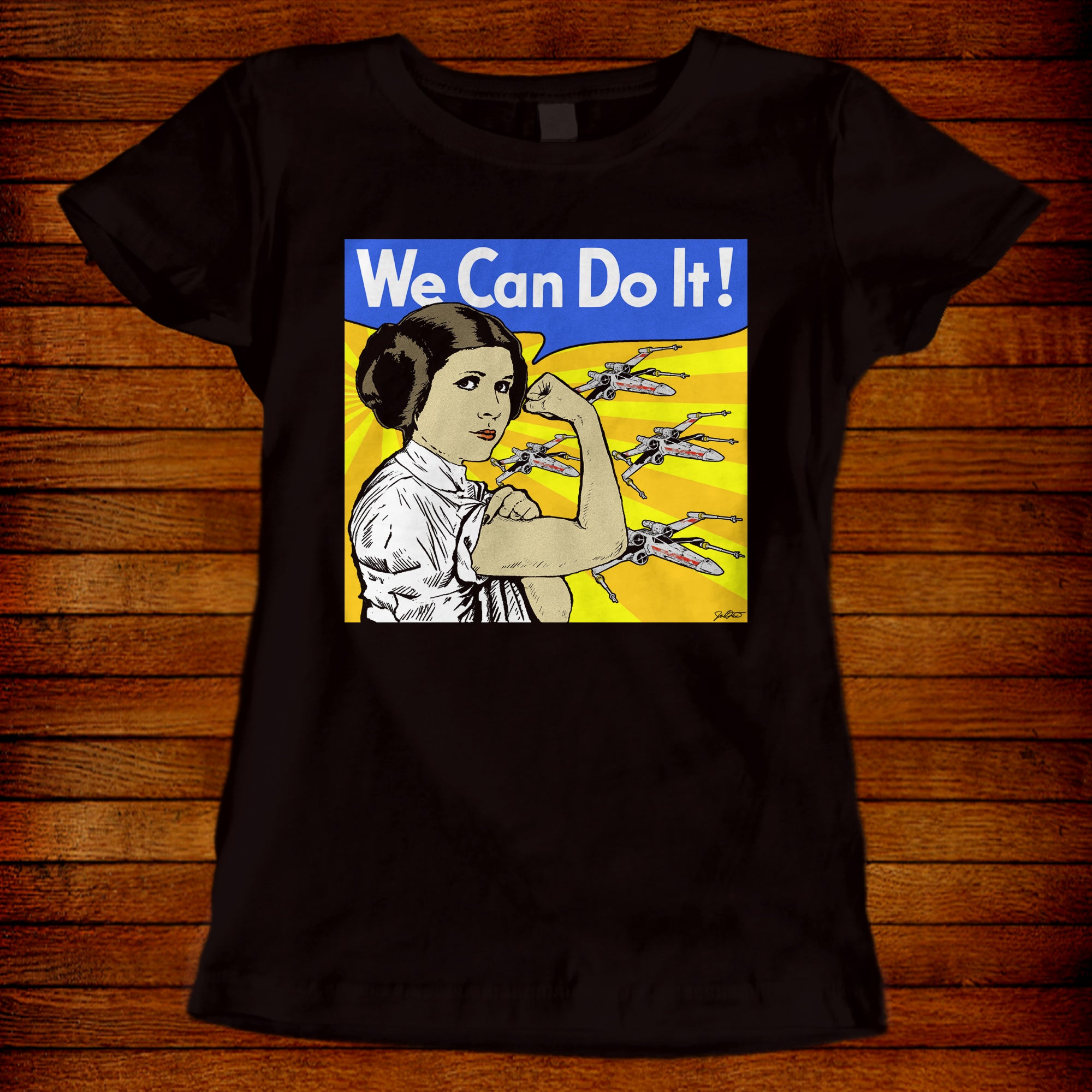 Carrie Fisher Tribute Leia We Can Do It!