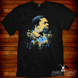 John Coltrane T-shirt artwork by Jared Swart