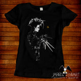 Edward Scissorhands T-shirt by Jared Swart inspired by Tim Burton's film classic