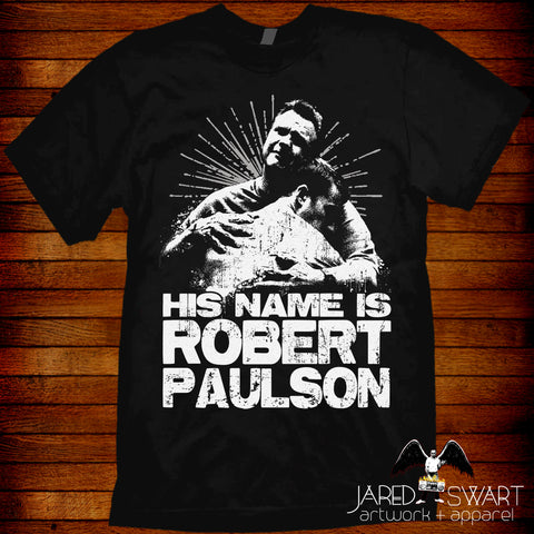 "Fight Club T-shirt ""Robert Paulson"" based on the 1999 movie"