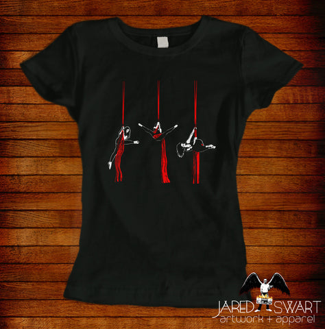 Aerial Silks T-shirt hip key
