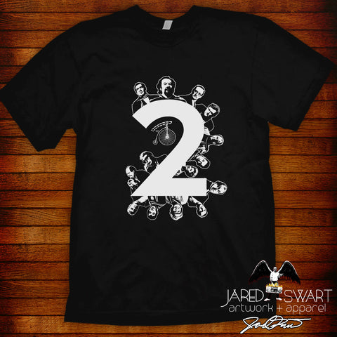 "The Prisoner t-shirt #2 ""Two"" by Jared Swart Artwork & Apparel"
