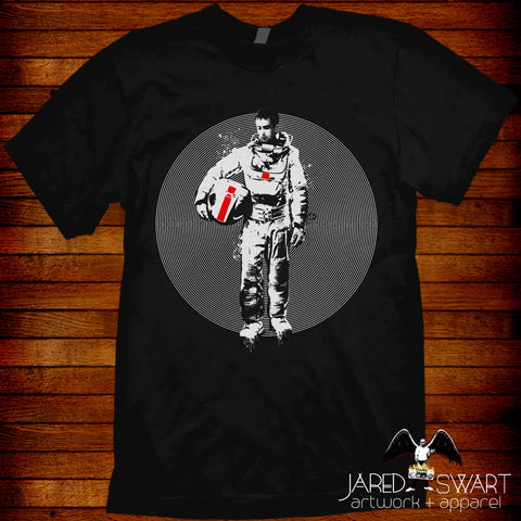Moon 2009 Duncan Jones Sam Rockwell David bowie T-shirt